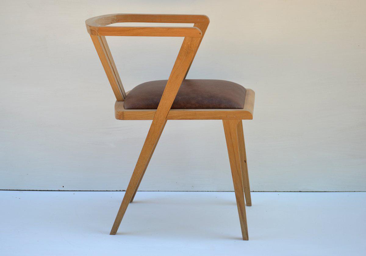 Handmade Oak Dining Chairs Bespoke Dining Chairs Makers : oak zen dining chair 1 from www.makersbespokefurniture.com size 1200 x 840 jpeg 261kB