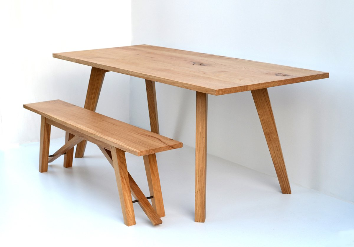 Chiswick Oak Dining Table Bespoke Contemporary Table