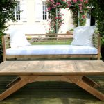 Bespoke oak garden bench
