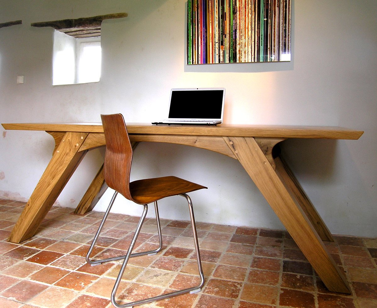 arch leg dining table or bespoke office desk makers