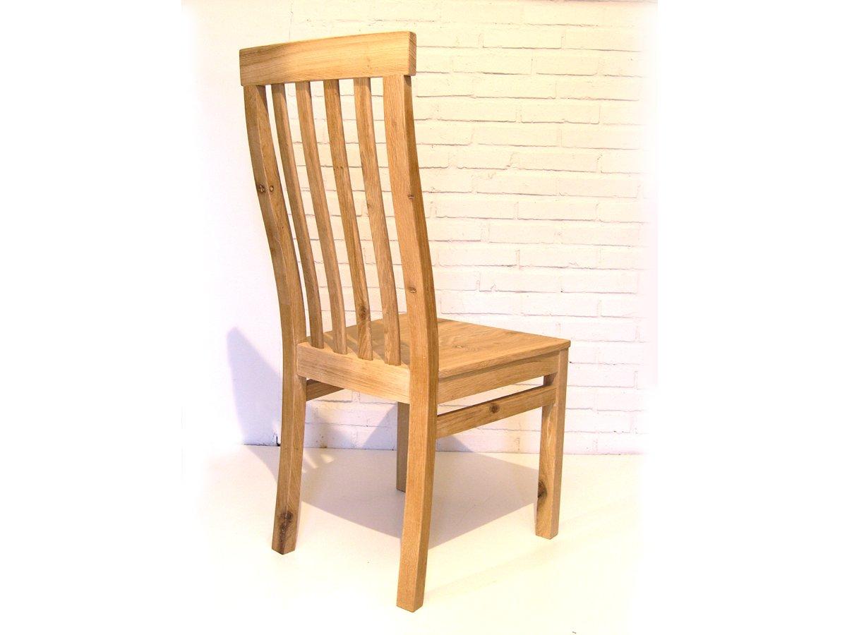 Oak High Back Dining Chair Handmade French Oak Chair