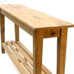 simple oak console table2